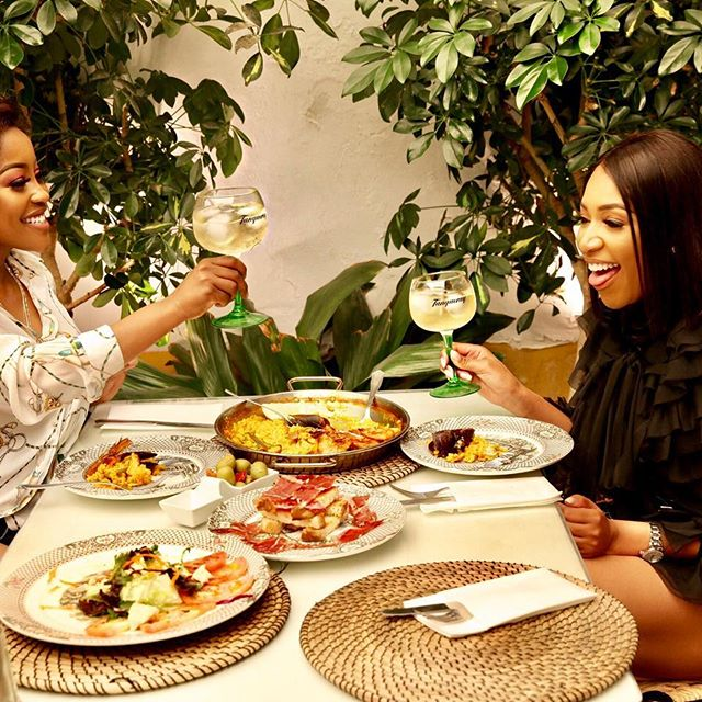 Lorna Maseko and Model Blue Mbombo Take Over Spain