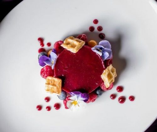 Punchinellos winter menu 2019_Berry mousse
