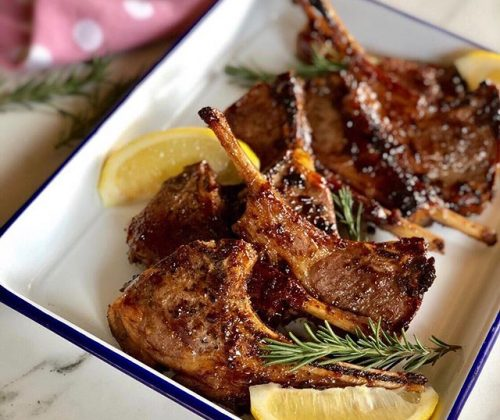 Simple Sweet And Sour Lamb Chops Recipe For Fathers' Day