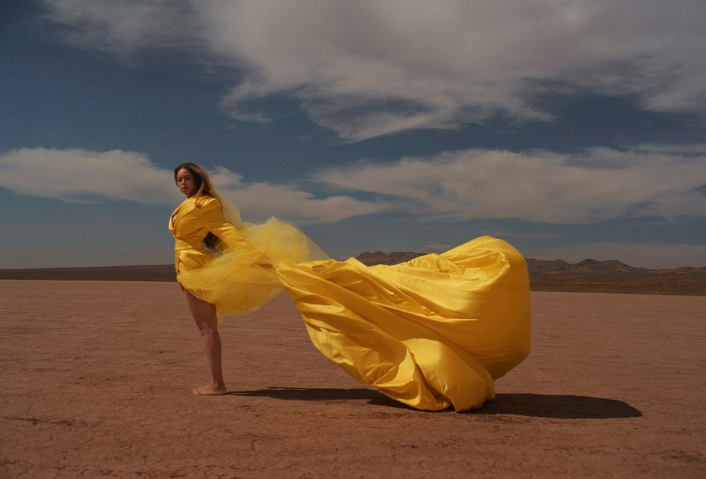 "Beyoncé Releases New Video for The Lion King Song ""Spirit""."