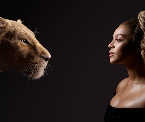 Beyonce Faces Her Character, Nala As The Countdown Begins