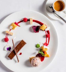 Luce winter dessert_Espresso panna cotta