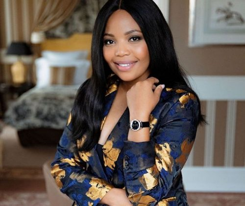 Actress, Terry Pheto Wins BUFF Award In The UK