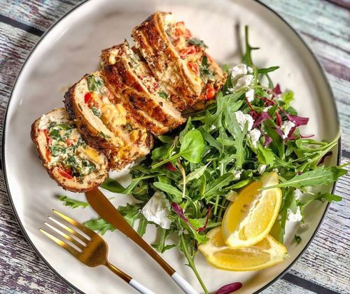 Stuffed Chicken Fillet Recipe To Try This Evening