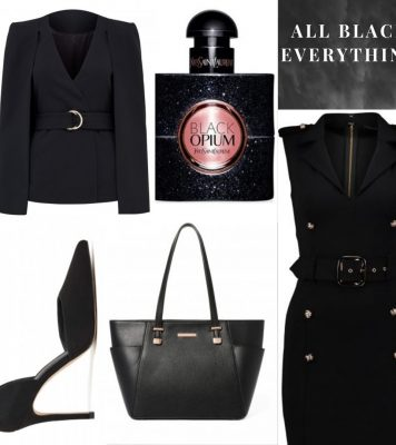All Black Everything, Power Look To Slay Your Week