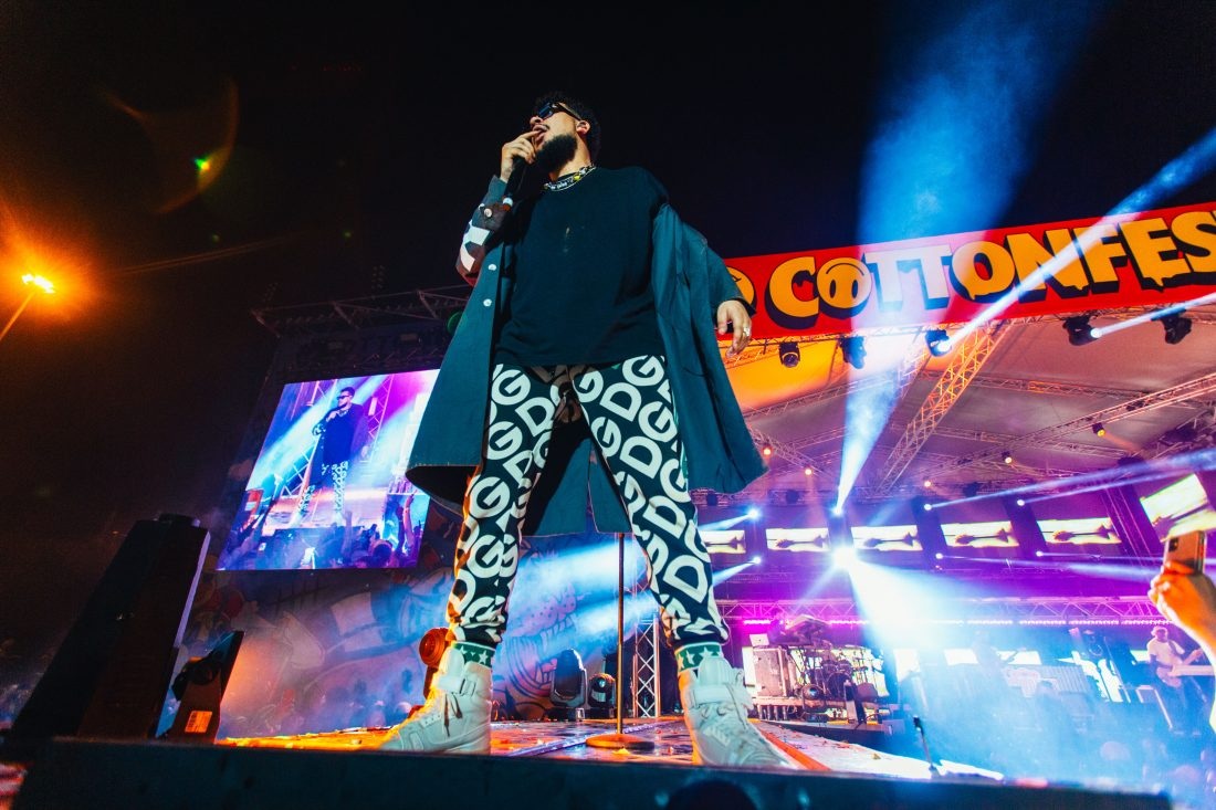 Riky Rick's Cotton Festival Shuts Down The Inner City
