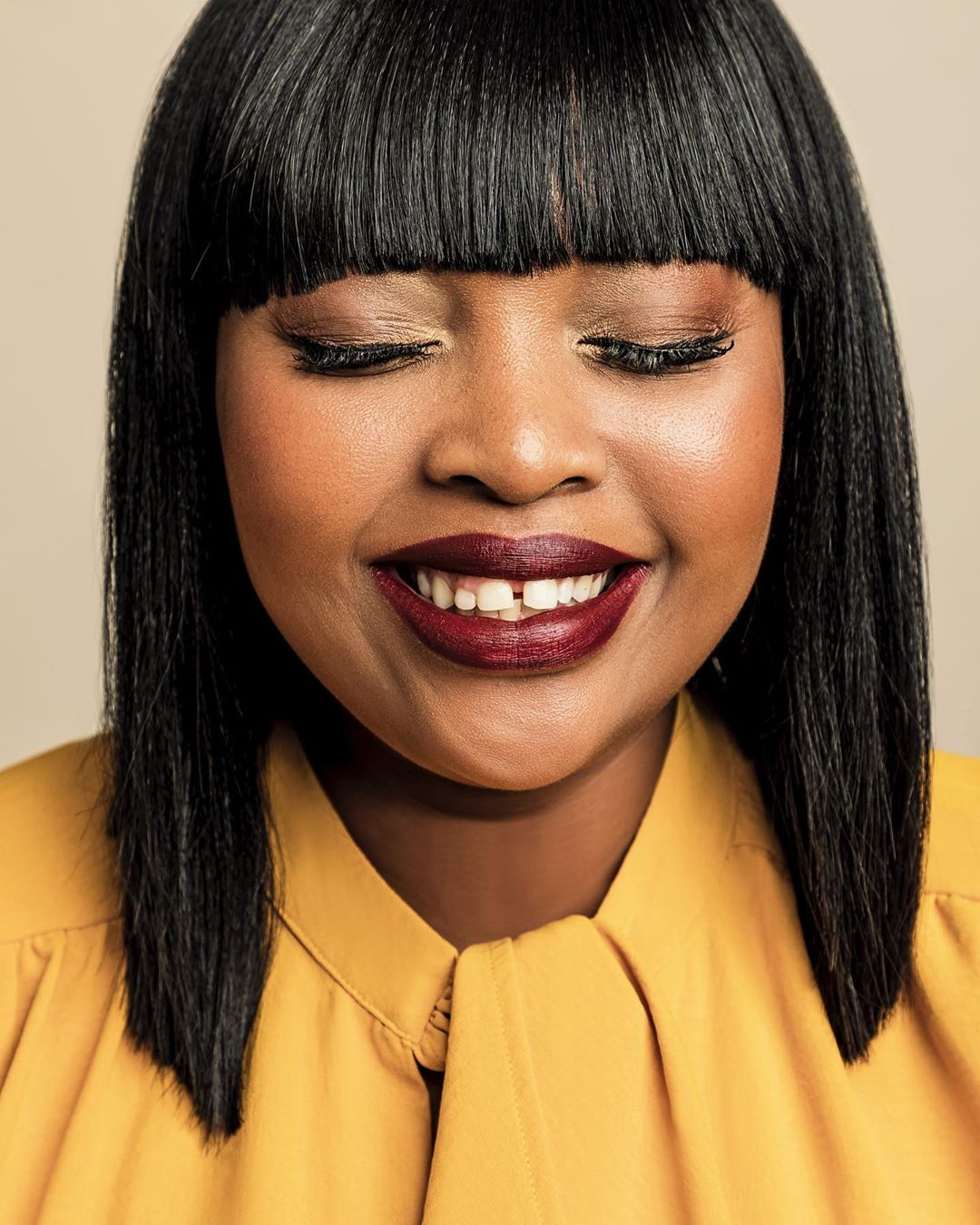 Relebogile Mabotja launches winter campaign for Donna