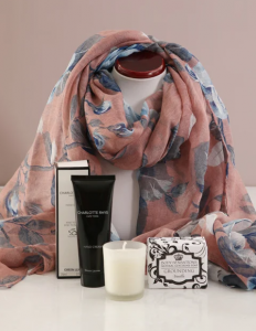 Floral Scarf With Charlotte Rhys Hamper From R 469.95