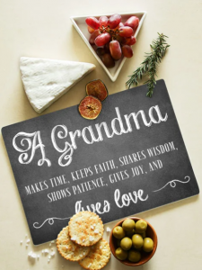 Grandma Glass Chopping board 289.95