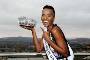 Zozibini Tunzi Is The Face Behind The Miss SA Media Campaign