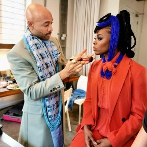Unathi Nkayi Is The Face Of Sir John and WBeauty's 'Reign & Shine' Collection..