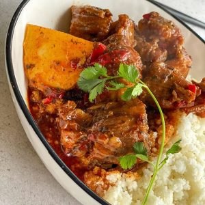 Oxtail casserole stew