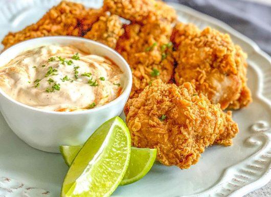 Crunchy chicken wings