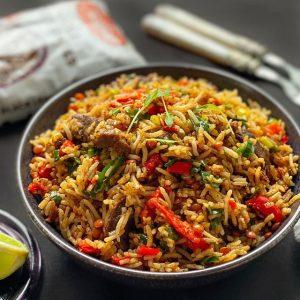 Beef Teriyaki Lentil Rice
