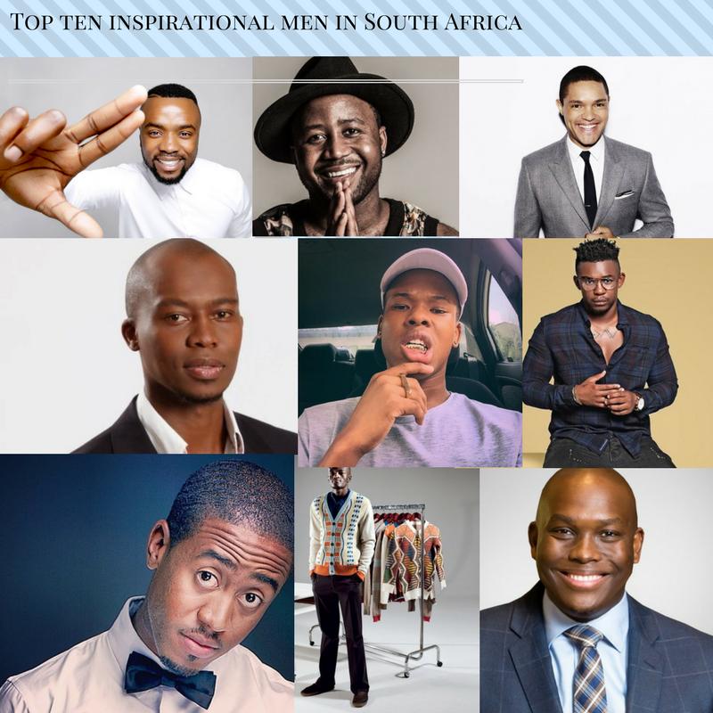 Top TEN Inspirational Men in South Africa