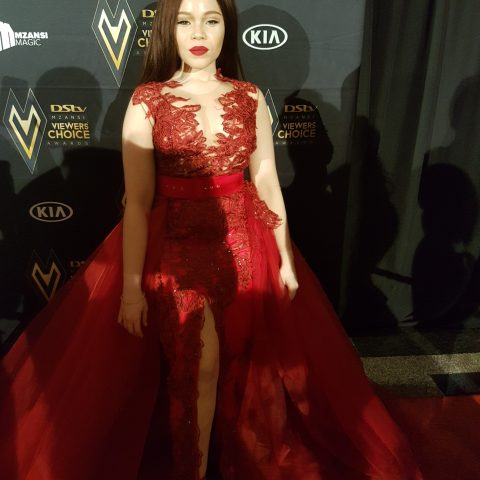 Celebrities Slaying The Red Carpet At The DStv Mzansi Viewer's Choice Awards