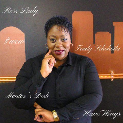 Note From A Mentor's Desk: Trudy Mackay Sekokotla