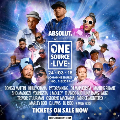 What To Do This Month: Be Part of The Absolut One Source Live Festival