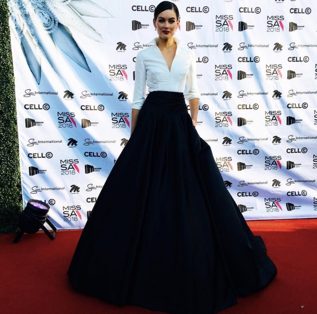 Miss South Africa 2018 Red Carpet Look