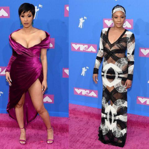 Power Look: Celebrities Slaying The 2018 MTV VMAs Red Carpet Looks
