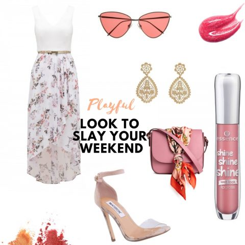 Playful Look To Slay Your Weekend