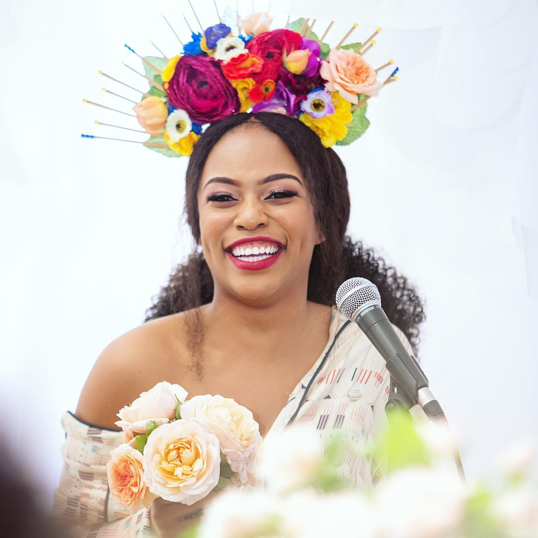 Nomzamo Mbatha Honoured With A Rose Named After Her