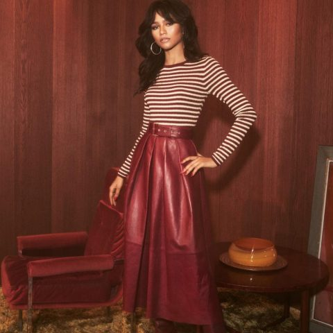 Step Back To The '70s With Zendaya's Tommy Hilfiger Collaboration