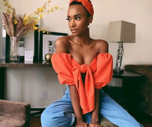 Watch Miss Universe Zozibini Tunzi Sings Amanda Black's Amazulu