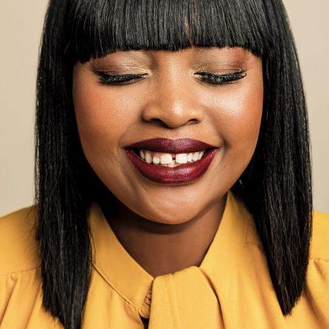 Relebogile Mabotja launches winter campaign for Donna