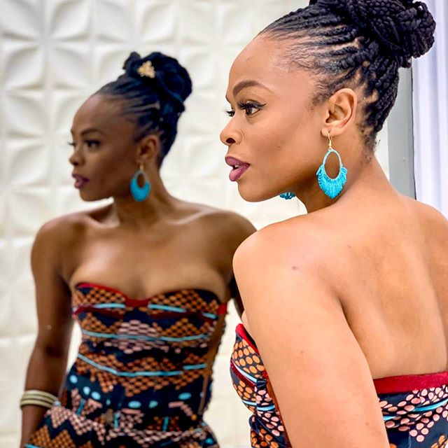 Unathi Nkayi Is The Face Of Sir John and WBeauty's 'Reign & Shine' Collection,