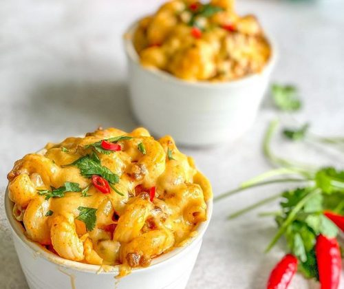 Mince-mac and cheese