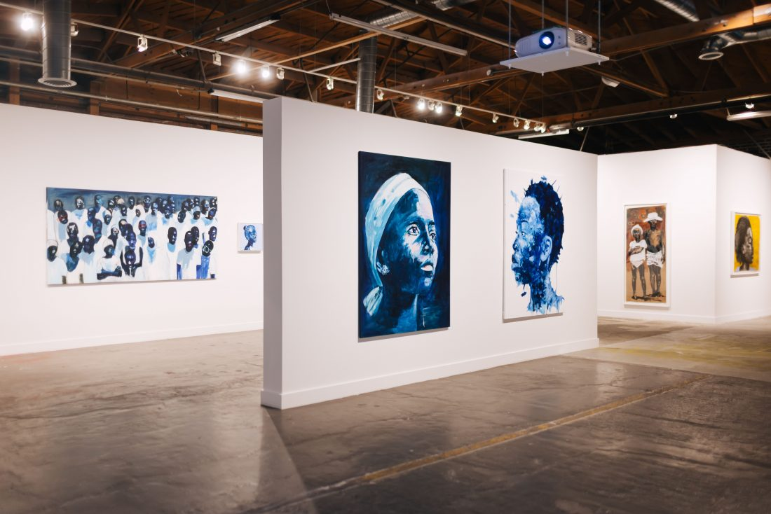 Artist Nelson Makamo Shares Debuting His First Solo Exhibition In The US